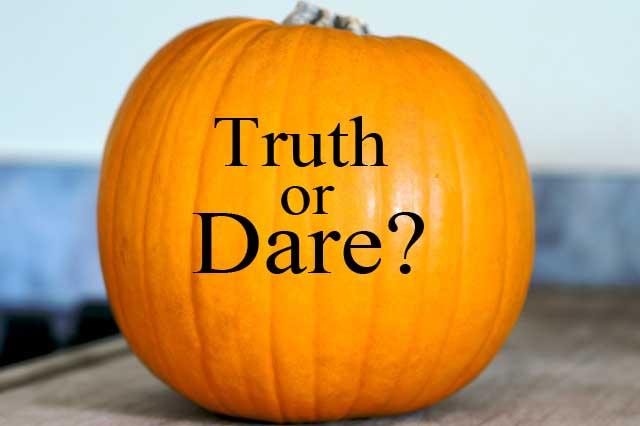truth or dare pumpkin