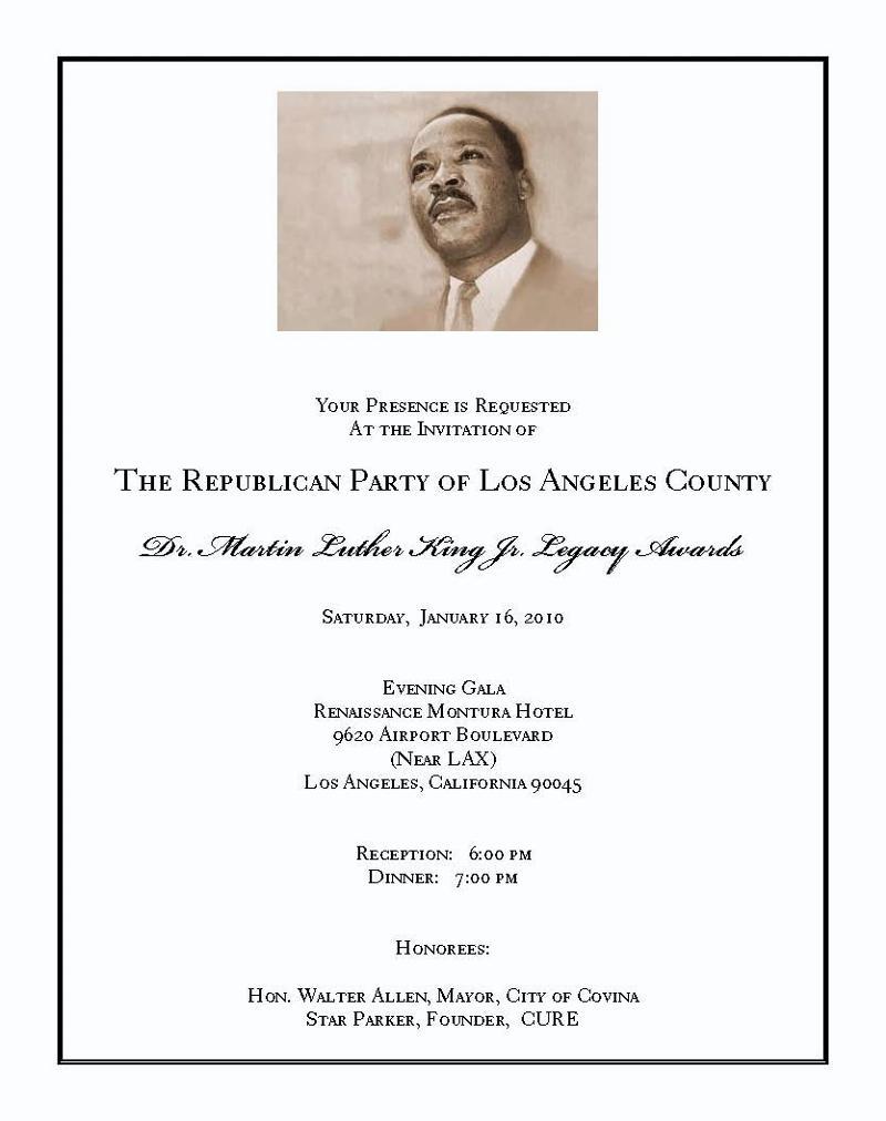 MLK Invitation