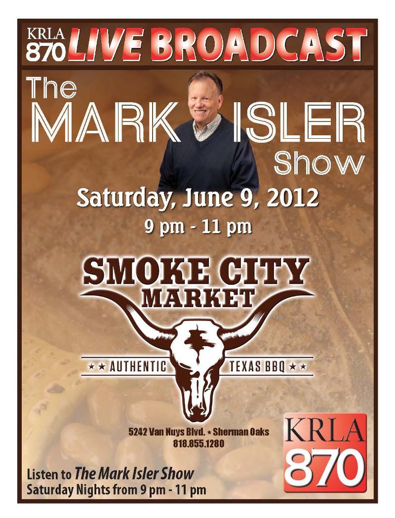 Mark Isler Show June 9