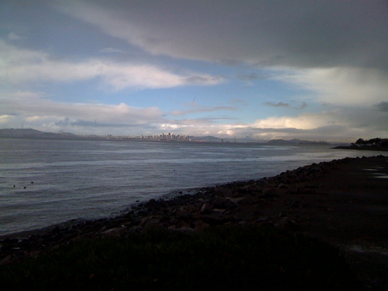 Morning at Alameda Beach
