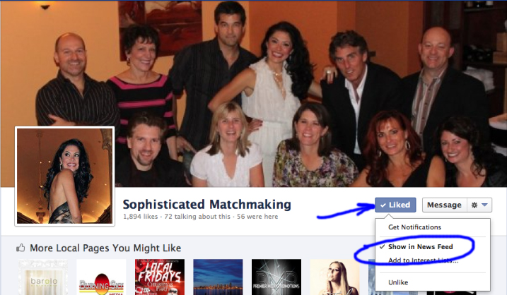 Sophisticated Matchmaking Fan Page