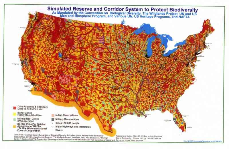 Wildlands map