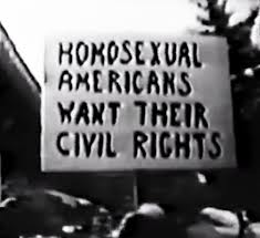 Homos want rights sign