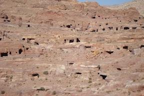 Hillside of homes