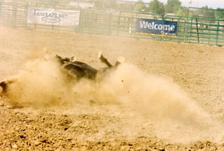 Taken at Harney County, OR rodeo on July 12, 2012