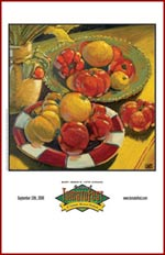 Tomatoes Still Life by Robert Lewis