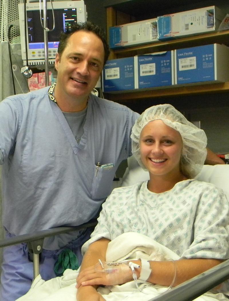 Dr. Evan Ekman with Shannan Howerton