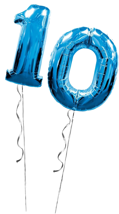 Balloons - 10th Anniversary