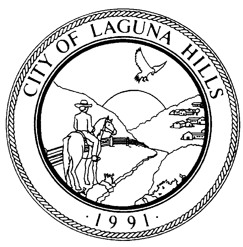 Participant Information City of Laguna Hills Memorial Day