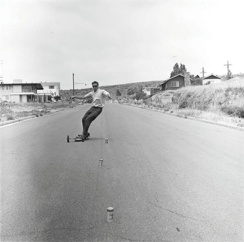 Hobie skateboarding