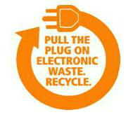 City e-waste recycling event
