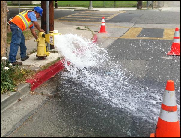 Wastewater Pipe Flushing