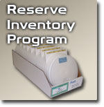 Garrett has a Reserve Inventory Program!