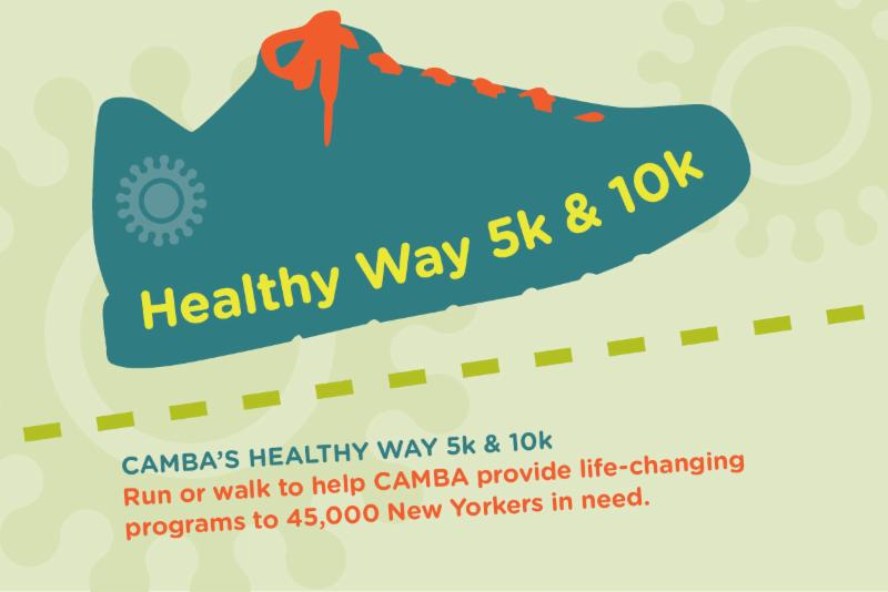 Healthy Way 5k and 10k Logo