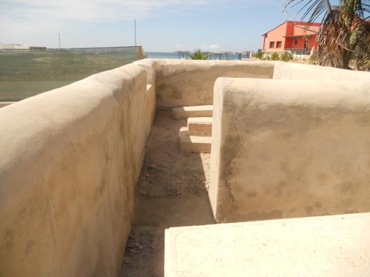 Boa Vista Cemetery Renovation in progress