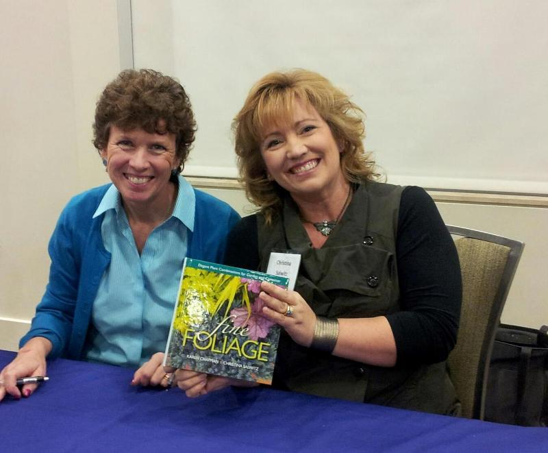 Our very first book signing!