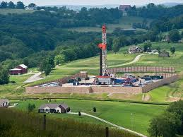 Marcellus Shale Drilling Rig