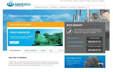 MIRATECH New Home Page