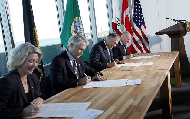 West Coast Governors sign climate pact