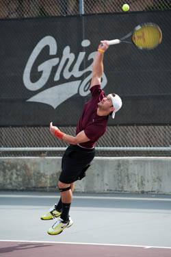 Men's tennis team grabs top spot