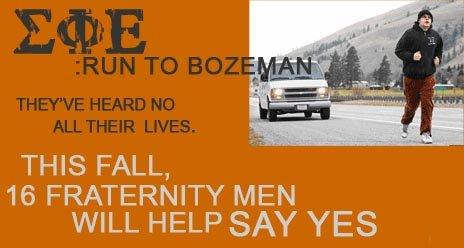 Run to Bozeman