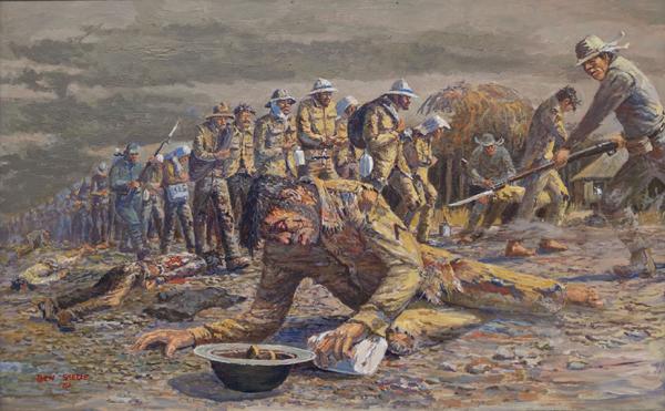 Ben Steele, The Bataan Death March