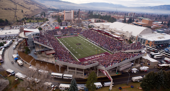 UM's Washington-Grizzly Stadium