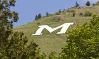 Mount Sentinel M Trail