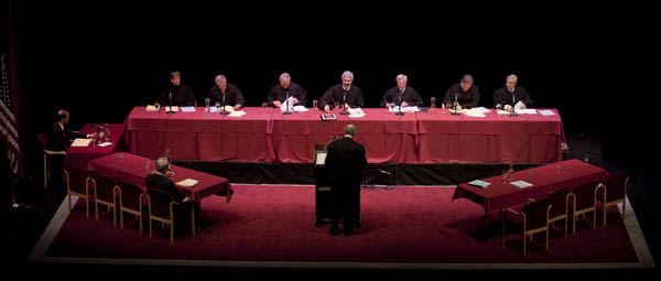 Montana Supreme Court holds session at UM.