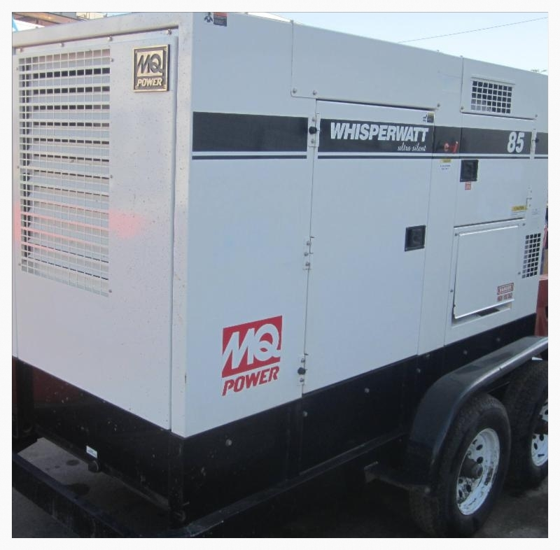 Used MQ Whisperwatt GenSet for sale
