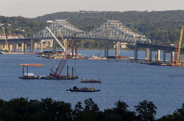 Tappan Zee bridge project.