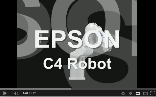 Epson C4 Robot Video
