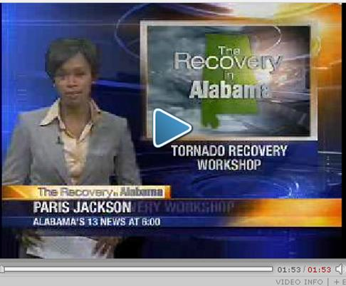 Tornado Recovery Workshop