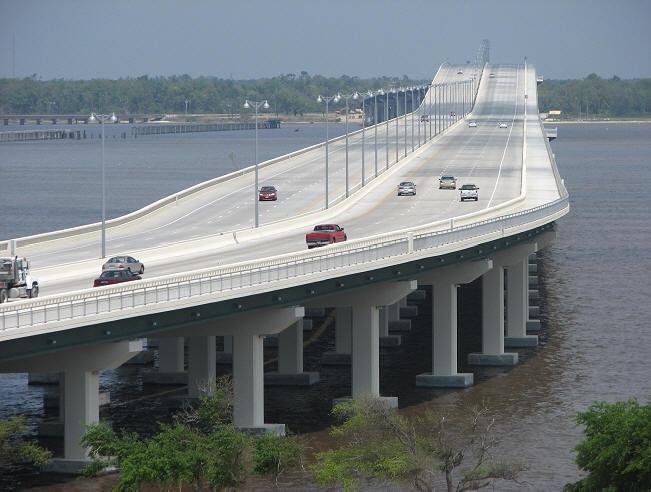 Biloxi Bridge before