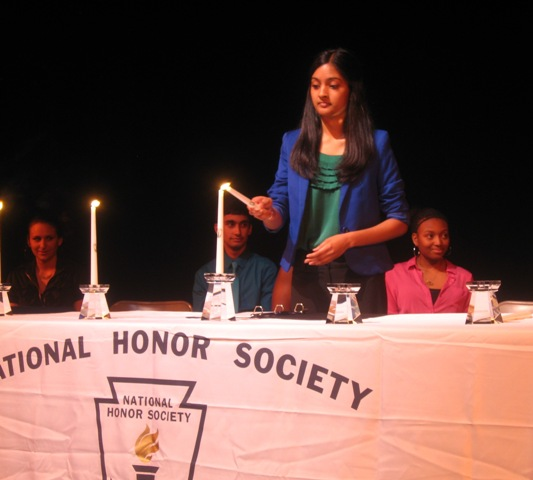 HSA NHS Induction Ceremony 2013