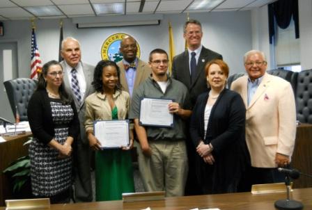 NJAC Scholarship Recipients 2012