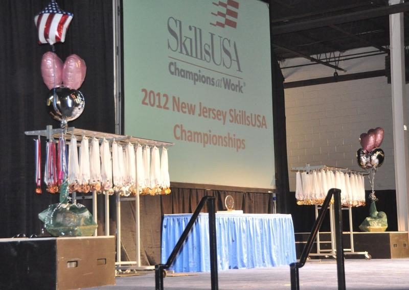 Students celebrate success at skillsusa nj state competition - Garden state exhibit center somerset nj ...