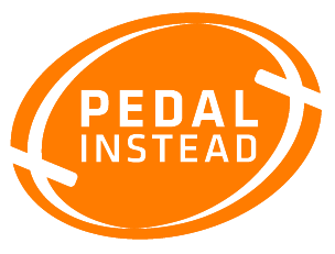 pedal instead logo