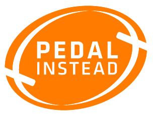 pedal instead logo