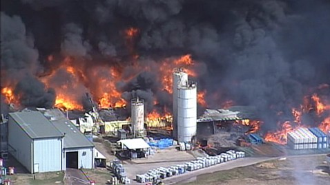 Magnablend Chemical Plant Fire