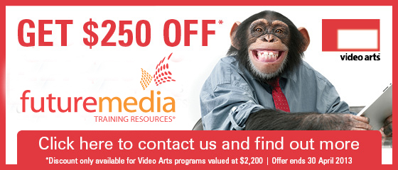 Video Arts offer April 2013
