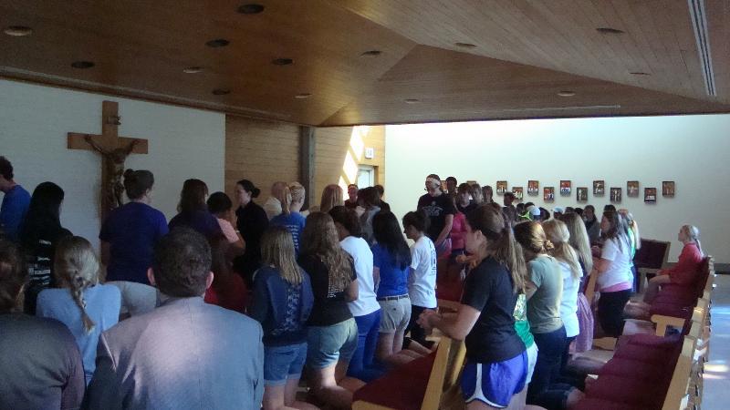 Pasta and Prayer Mass