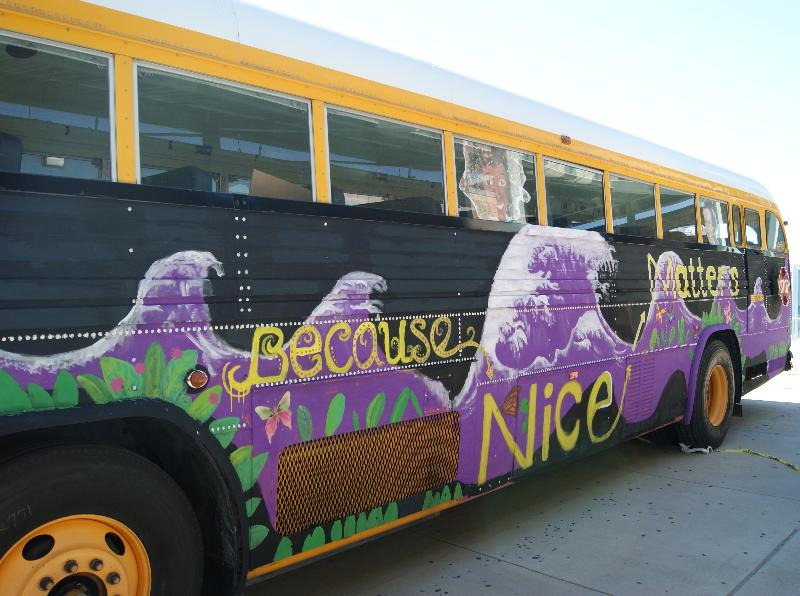 Because Nice Matters bus