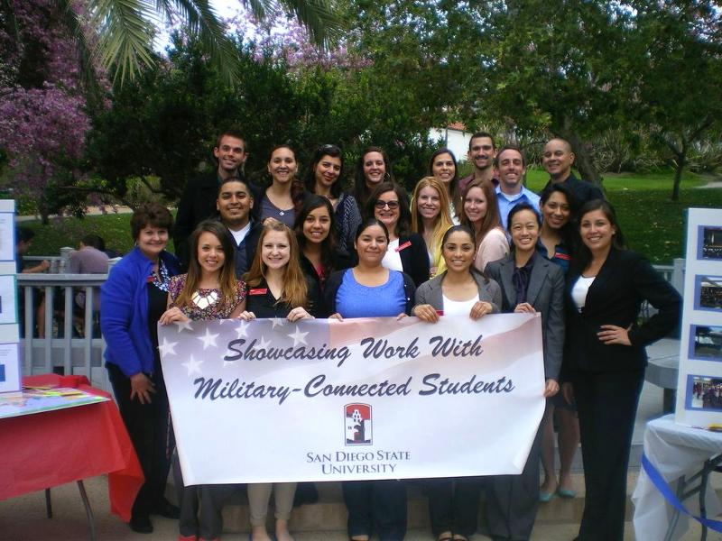 Showcasing Work with MIlitary-Connected Students
