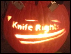 Knife Rights JackOLantern 2011
