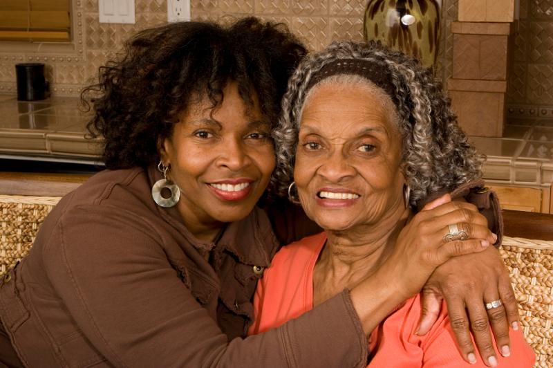 Mother & older daughter