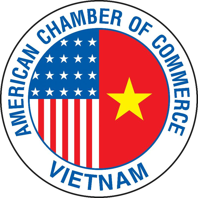 Amcham round logo