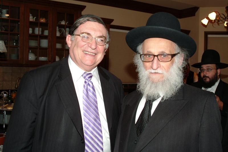 Rabbi Krohn and Rabbi Kagan