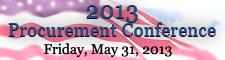 2013 Procurement Conference