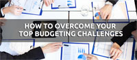 how to overcome your top budgeting challenges